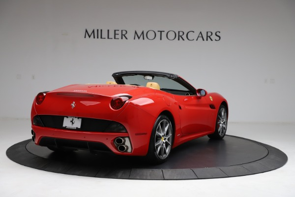 Used 2010 Ferrari California for sale $114,900 at Bugatti of Greenwich in Greenwich CT 06830 7
