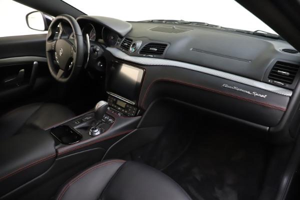 Used 2018 Maserati GranTurismo Sport for sale $99,900 at Bugatti of Greenwich in Greenwich CT 06830 18