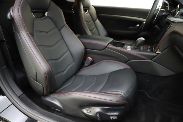Used 2018 Maserati GranTurismo Sport for sale $99,900 at Bugatti of Greenwich in Greenwich CT 06830 20