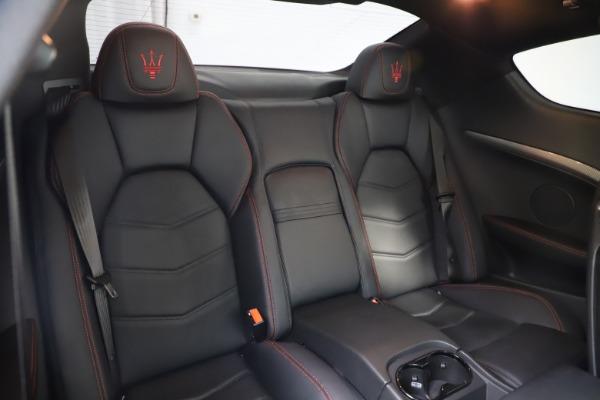 Used 2018 Maserati GranTurismo Sport for sale $99,900 at Bugatti of Greenwich in Greenwich CT 06830 22
