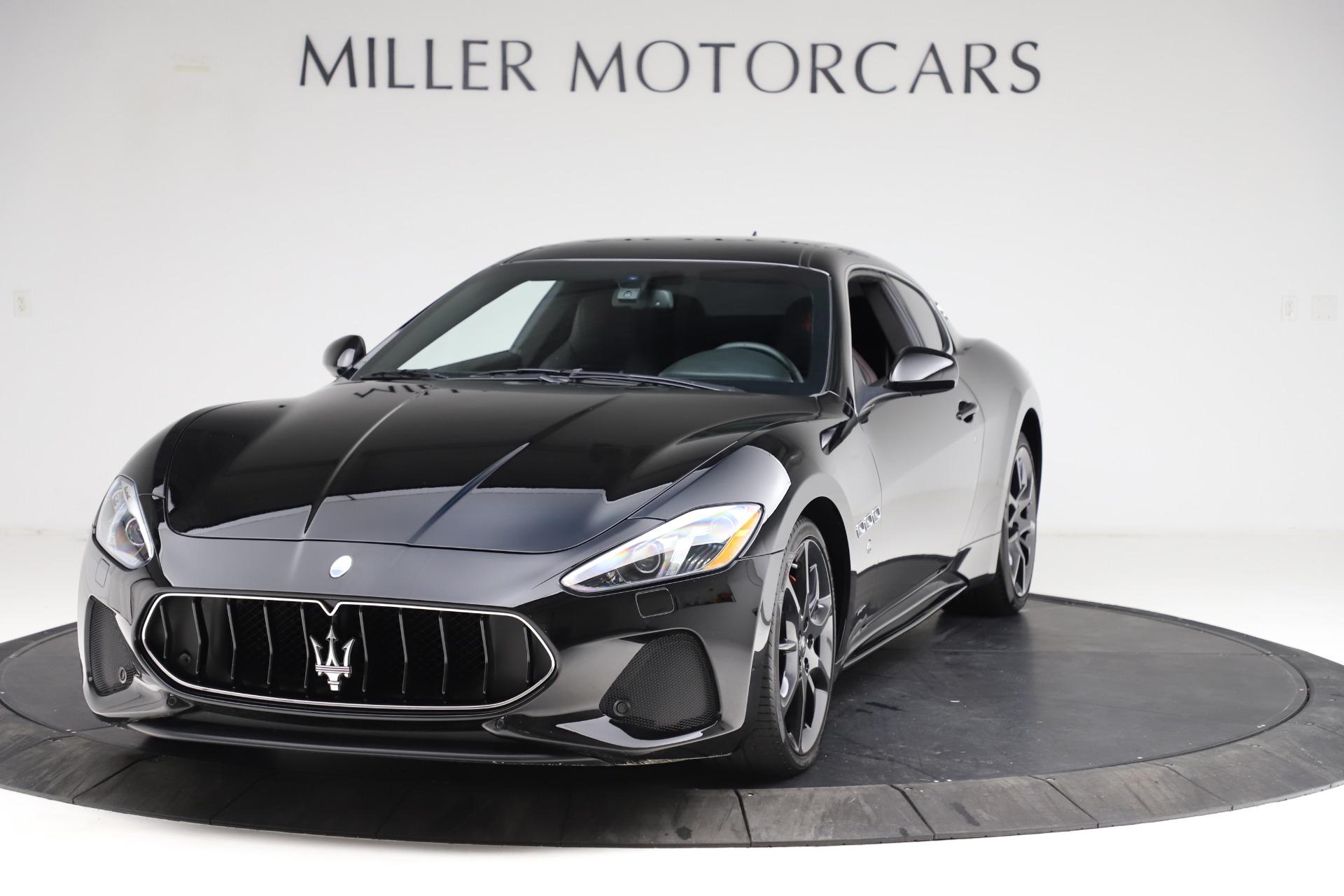 Used 2018 Maserati GranTurismo Sport for sale $99,900 at Bugatti of Greenwich in Greenwich CT 06830 1