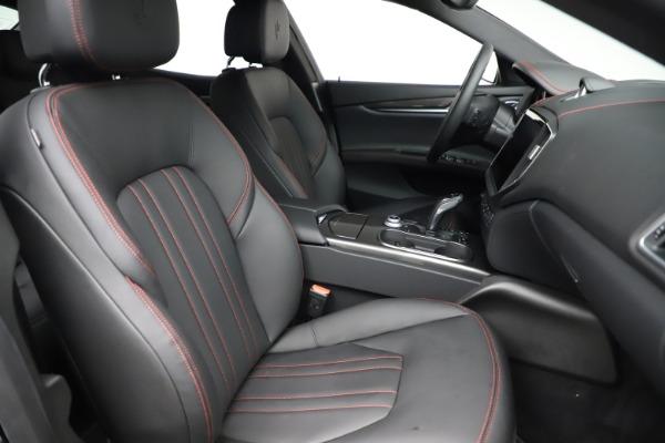 New 2021 Maserati Ghibli S Q4 for sale $86,654 at Bugatti of Greenwich in Greenwich CT 06830 22
