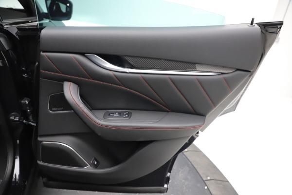 New 2021 Maserati Levante GTS for sale $135,485 at Bugatti of Greenwich in Greenwich CT 06830 25
