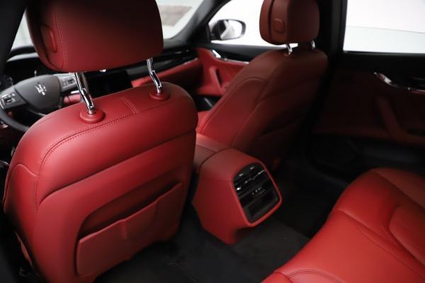 New 2021 Maserati Quattroporte S Q4 GranLusso for sale $122,435 at Bugatti of Greenwich in Greenwich CT 06830 18