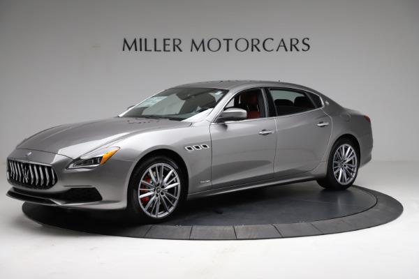 New 2021 Maserati Quattroporte S Q4 GranLusso for sale $122,435 at Bugatti of Greenwich in Greenwich CT 06830 2