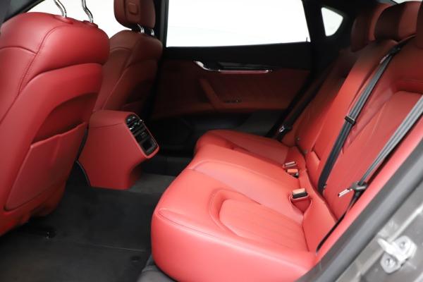 New 2021 Maserati Quattroporte S Q4 GranLusso for sale $122,435 at Bugatti of Greenwich in Greenwich CT 06830 20