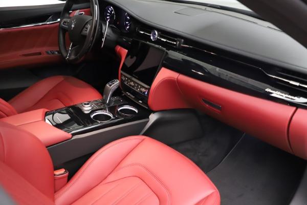 New 2021 Maserati Quattroporte S Q4 GranLusso for sale $122,435 at Bugatti of Greenwich in Greenwich CT 06830 22