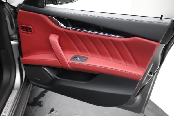 New 2021 Maserati Quattroporte S Q4 GranLusso for sale $122,435 at Bugatti of Greenwich in Greenwich CT 06830 23