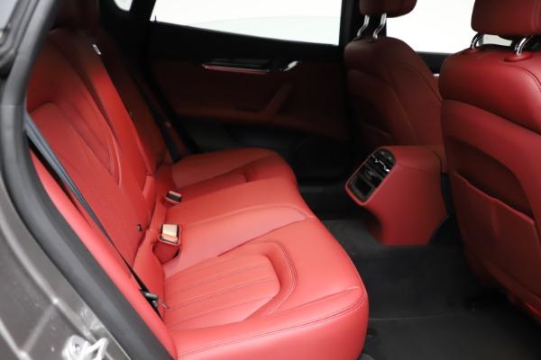 New 2021 Maserati Quattroporte S Q4 GranLusso for sale $122,435 at Bugatti of Greenwich in Greenwich CT 06830 24