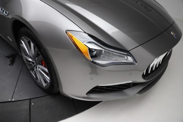 New 2021 Maserati Quattroporte S Q4 GranLusso for sale $122,435 at Bugatti of Greenwich in Greenwich CT 06830 25