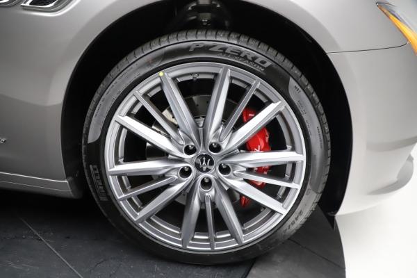 New 2021 Maserati Quattroporte S Q4 GranLusso for sale $122,435 at Bugatti of Greenwich in Greenwich CT 06830 26