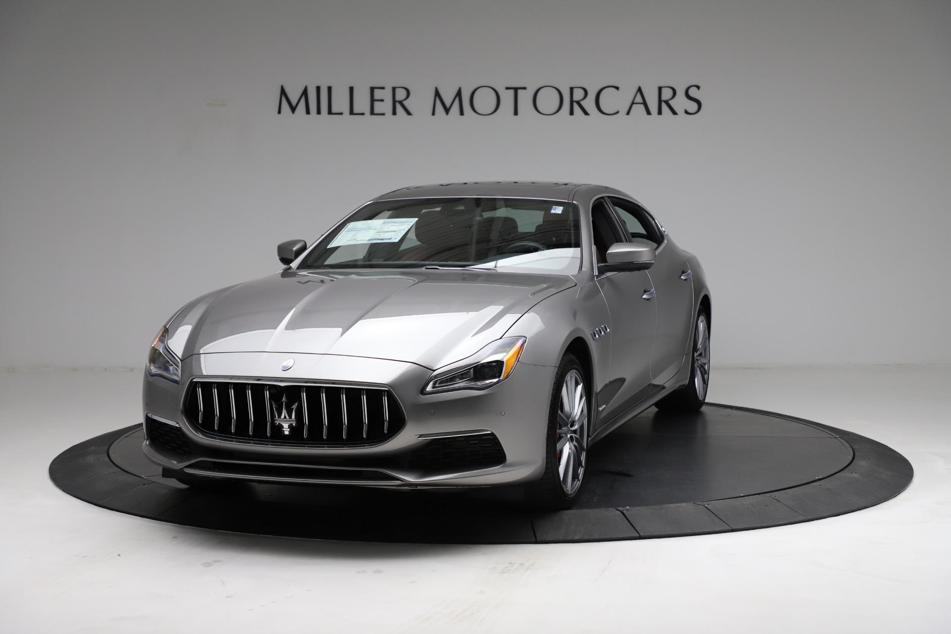 New 2021 Maserati Quattroporte S Q4 GranLusso for sale $122,435 at Bugatti of Greenwich in Greenwich CT 06830 1