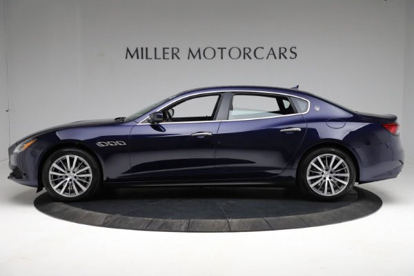 New 2021 Maserati Quattroporte S Q4 for sale Call for price at Bugatti of Greenwich in Greenwich CT 06830 3