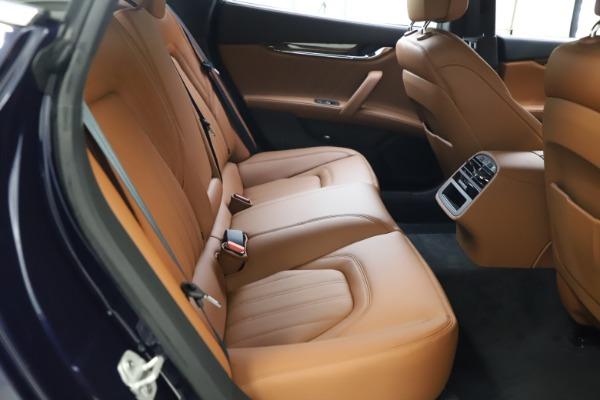 New 2021 Maserati Quattroporte S Q4 GranLusso for sale $123,549 at Bugatti of Greenwich in Greenwich CT 06830 19