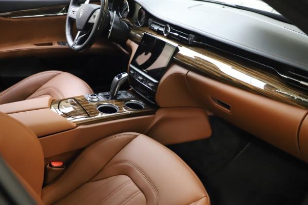 New 2021 Maserati Quattroporte S Q4 GranLusso for sale $123,549 at Bugatti of Greenwich in Greenwich CT 06830 20
