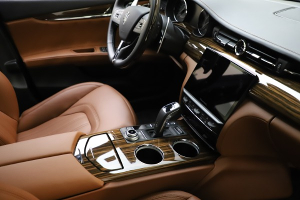 New 2021 Maserati Quattroporte S Q4 GranLusso for sale $123,549 at Bugatti of Greenwich in Greenwich CT 06830 21
