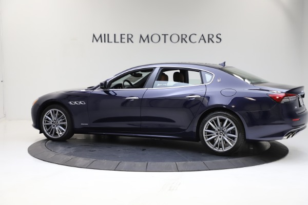 New 2021 Maserati Quattroporte S Q4 GranLusso for sale $123,549 at Bugatti of Greenwich in Greenwich CT 06830 3