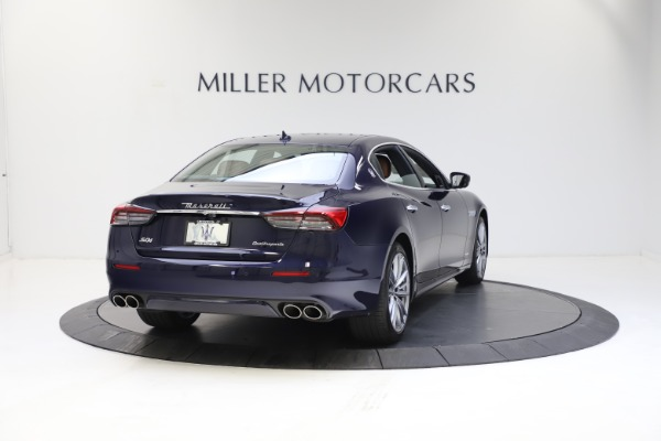 New 2021 Maserati Quattroporte S Q4 GranLusso for sale $123,549 at Bugatti of Greenwich in Greenwich CT 06830 6