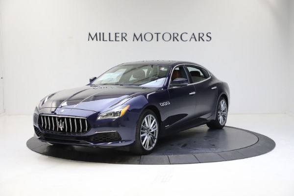 New 2021 Maserati Quattroporte S Q4 GranLusso for sale $123,549 at Bugatti of Greenwich in Greenwich CT 06830 1
