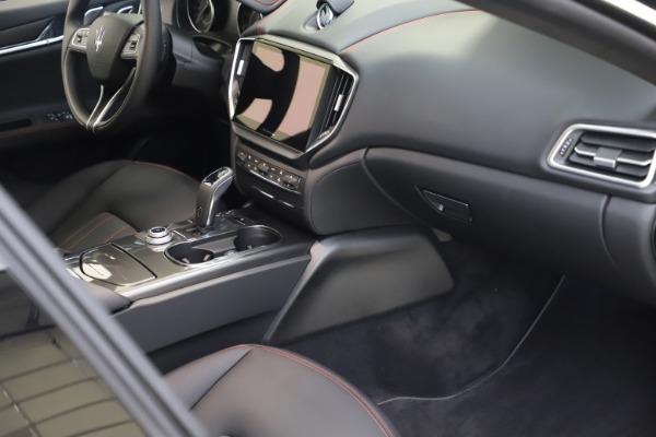 New 2021 Maserati Ghibli S Q4 for sale $86,654 at Bugatti of Greenwich in Greenwich CT 06830 20