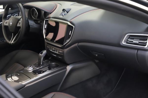New 2021 Maserati Ghibli S Q4 for sale $86,654 at Bugatti of Greenwich in Greenwich CT 06830 21