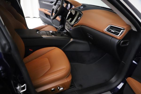 New 2021 Maserati Ghibli S Q4 for sale $86,954 at Bugatti of Greenwich in Greenwich CT 06830 22