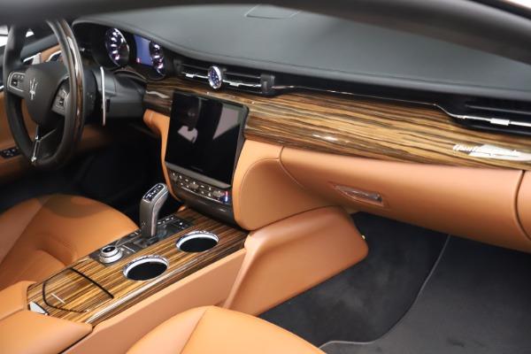 New 2021 Maserati Quattroporte S Q4 for sale $114,149 at Bugatti of Greenwich in Greenwich CT 06830 21