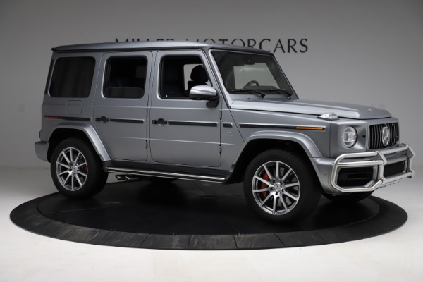 Used 2021 Mercedes-Benz G-Class AMG G 63 for sale $219,900 at Bugatti of Greenwich in Greenwich CT 06830 10