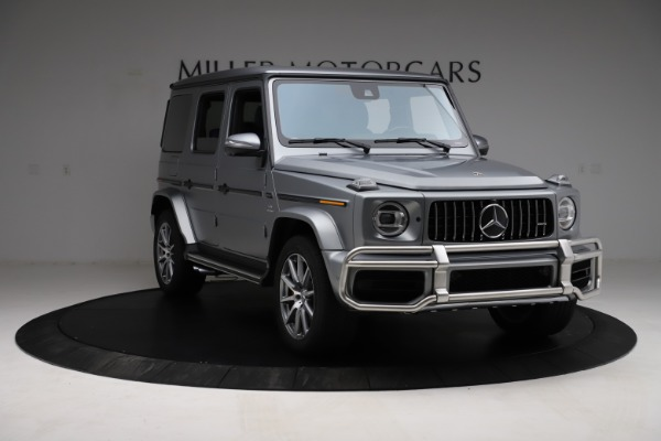 Used 2021 Mercedes-Benz G-Class AMG G 63 for sale $219,900 at Bugatti of Greenwich in Greenwich CT 06830 11