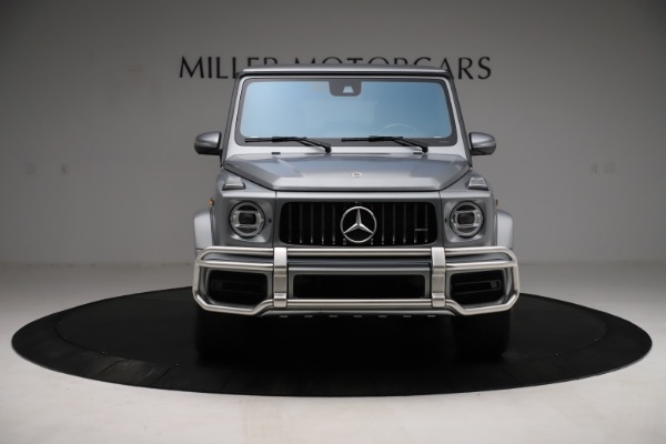 Used 2021 Mercedes-Benz G-Class AMG G 63 for sale $219,900 at Bugatti of Greenwich in Greenwich CT 06830 12
