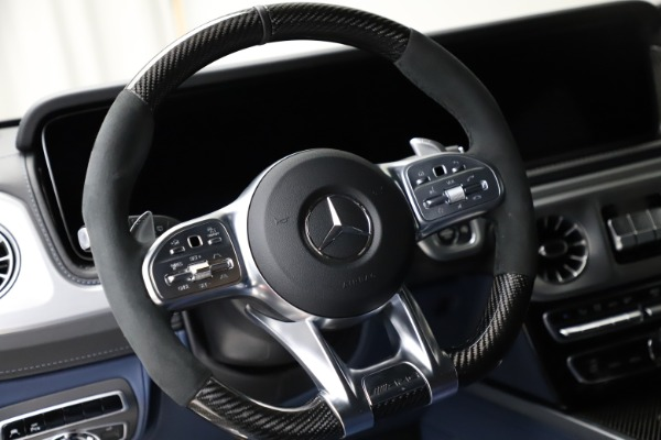 Used 2021 Mercedes-Benz G-Class AMG G 63 for sale $219,900 at Bugatti of Greenwich in Greenwich CT 06830 18
