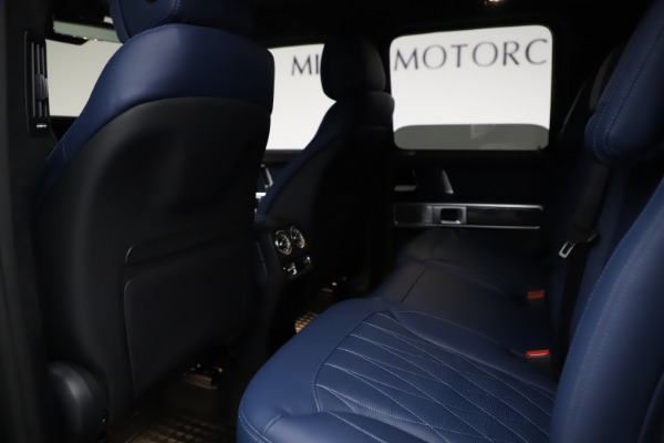 Used 2021 Mercedes-Benz G-Class AMG G 63 for sale $219,900 at Bugatti of Greenwich in Greenwich CT 06830 19