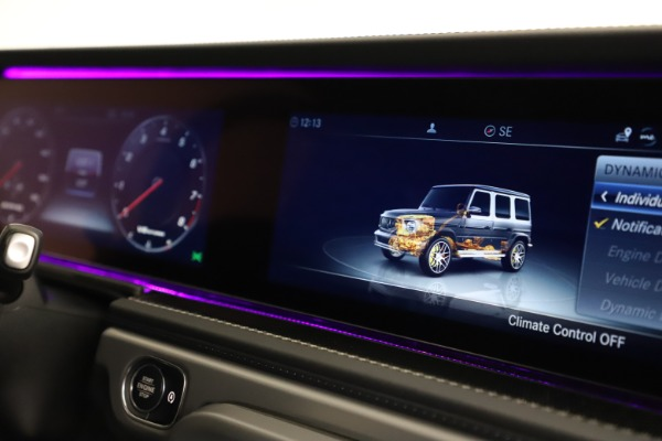 Used 2021 Mercedes-Benz G-Class AMG G 63 for sale $219,900 at Bugatti of Greenwich in Greenwich CT 06830 24