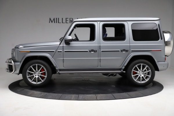 Used 2021 Mercedes-Benz G-Class AMG G 63 for sale $219,900 at Bugatti of Greenwich in Greenwich CT 06830 3