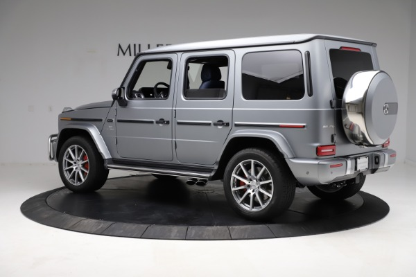 Used 2021 Mercedes-Benz G-Class AMG G 63 for sale $219,900 at Bugatti of Greenwich in Greenwich CT 06830 4