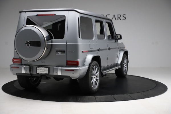 Used 2021 Mercedes-Benz G-Class AMG G 63 for sale $219,900 at Bugatti of Greenwich in Greenwich CT 06830 7