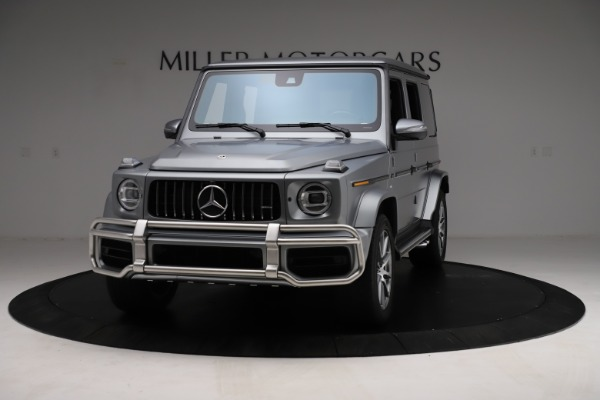 Used 2021 Mercedes-Benz G-Class AMG G 63 for sale $219,900 at Bugatti of Greenwich in Greenwich CT 06830 1