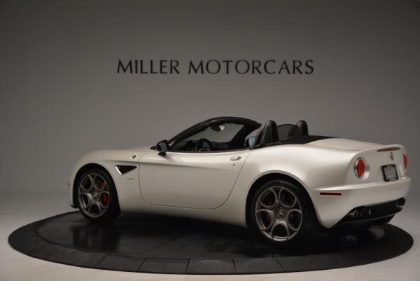 Used 2009 Alfa Romeo 8C Competizione Spider for sale $345,900 at Bugatti of Greenwich in Greenwich CT 06830 4