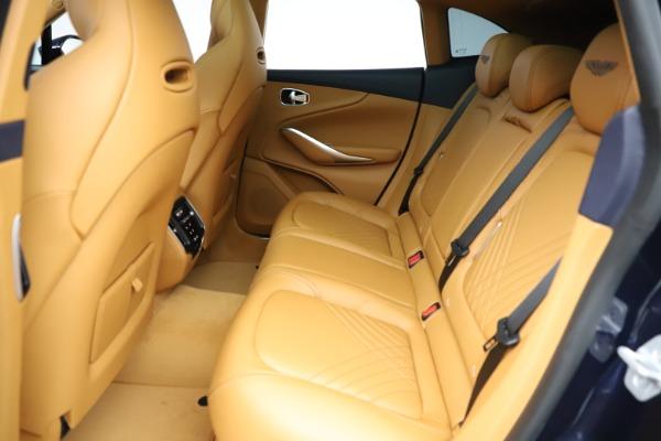 New 2021 Aston Martin DBX for sale $205,386 at Bugatti of Greenwich in Greenwich CT 06830 18