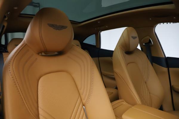 New 2021 Aston Martin DBX for sale $205,386 at Bugatti of Greenwich in Greenwich CT 06830 21