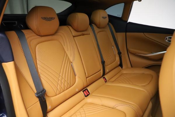 New 2021 Aston Martin DBX for sale $205,386 at Bugatti of Greenwich in Greenwich CT 06830 22