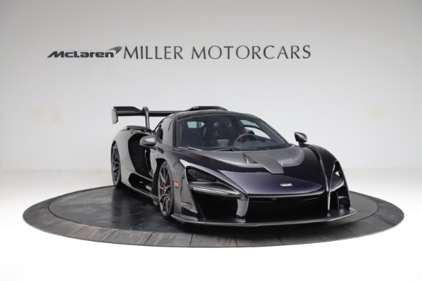 Used 2019 McLaren Senna for sale Call for price at Bugatti of Greenwich in Greenwich CT 06830 10
