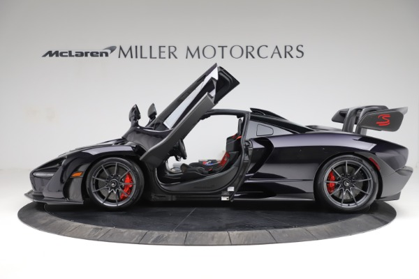 Used 2019 McLaren Senna for sale Call for price at Bugatti of Greenwich in Greenwich CT 06830 14