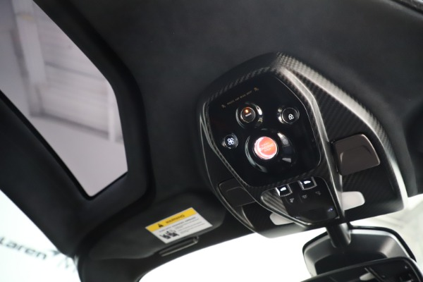 Used 2019 McLaren Senna for sale Call for price at Bugatti of Greenwich in Greenwich CT 06830 24