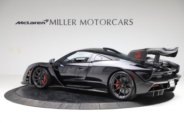 Used 2019 McLaren Senna for sale Call for price at Bugatti of Greenwich in Greenwich CT 06830 3