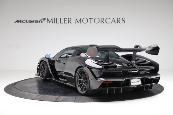 Used 2019 McLaren Senna for sale Call for price at Bugatti of Greenwich in Greenwich CT 06830 4