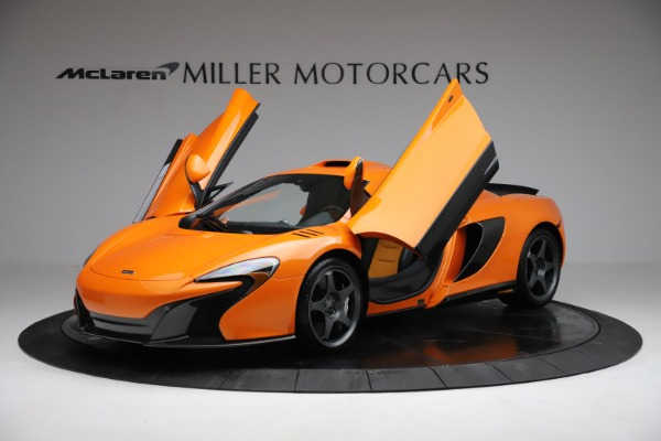 Used 2015 McLaren 650S LeMans for sale $269,990 at Bugatti of Greenwich in Greenwich CT 06830 13