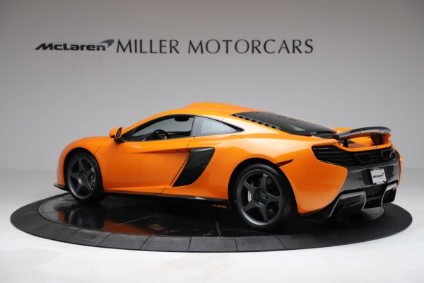 Used 2015 McLaren 650S LeMans for sale $269,990 at Bugatti of Greenwich in Greenwich CT 06830 3
