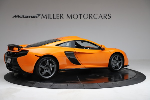 Used 2015 McLaren 650S LeMans for sale $269,990 at Bugatti of Greenwich in Greenwich CT 06830 7