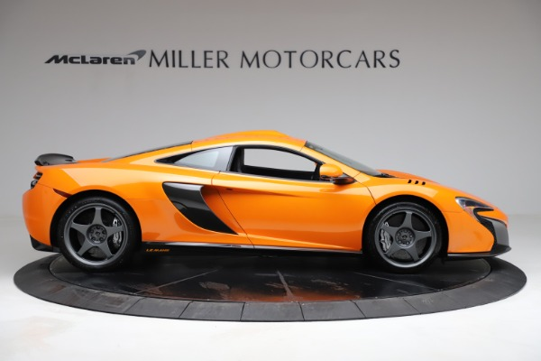Used 2015 McLaren 650S LeMans for sale $269,990 at Bugatti of Greenwich in Greenwich CT 06830 8